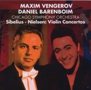 Maxim Vengerov, Chicago Symphony Orchestra, Daniel Barenboim: Sibelius, Nielsen: Violin Concertos - CD