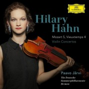 Hilary Hahn: Mozart/ Vieuxtemps: Violin Concertos - CD