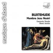 Concerto Vocale, René Jacobs: Buxtehude: Membra Jesu Nostri - CD