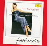 Anne-Sophie Mutter, Lambert Orkis: Beethoven: Spring + Kreutzer Sonatas - CD