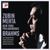 Zubin Mehta, New York Philharmonic Orchestra: Brahms - CD