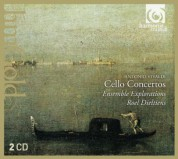 Ensemble Explorations, Roel Dieltiens: Vivaldi: Cello Concertos - CD