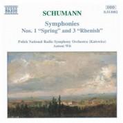 Polish National Radio Symphony Orchestra: Schumann, R.: Symphonies Nos. 1 and 3 - CD