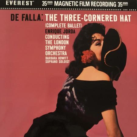 Enrique Jordá, London Symphony Orchestra, Barbara Howitt: De Falla: Three Cornered Hat - Plak