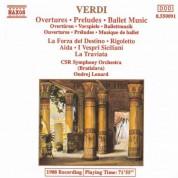 Ondrej Lenard: Verdi: Overtures / Preludes / Ballet Music - CD