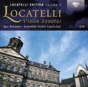 Igor Ruhadze, Ensemble Violini Capricciosi: Locatelli: Violin Sonatas - CD