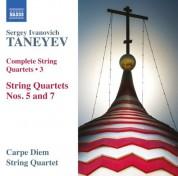 Carpe Diem String Quartet: Taneyev: Complete String Quartets, Vol. 3 - CD