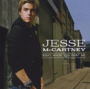 Jesse McCartney: Right Where You Want Me - CD