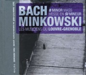 Lucy Crowe, Joanne Lunn, Julia Lezhneva, Nathalie Stutzmann, Colin Blazer, Blandine Staskiewicz, Les Musiciens du Louvre, Marc Minkowski: J.S. Bach: Mass in B Minor, BWV 232 - CD