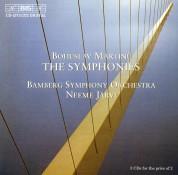 Bamberg Symphony Orchestra, Neeme Järvi: Martinu: The Symphonies - CD