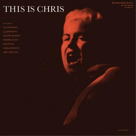 Chris Connor: This Is Chris - Plak