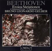Bruno Leonardo Gelber: Beethoven: Eroica, Variationen - Plak