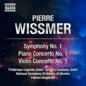 Amaury Coeytaux, Fabrice Gregorutti, Frederique Lagarde, Ukraine National Symphony Orchestra: Wissmer: Symphony No. 1, Piano Concerto No. 1 & Violin Concerto No. 1 - CD