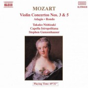 Takako Nishizaki: Mozart: Violin Concertos Nos. 3 and 5 - CD