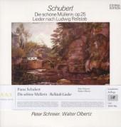 Peter Schreier, Walter Olbertz: Schubert: Die schöne Müllerin, Op. 25 - Plak