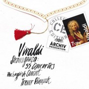 Trevor Pinnock, The English Concert: Vivaldi: Stravaganza – 55 Concertos - CD