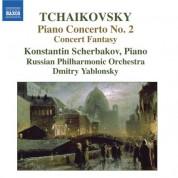 Konstantin Scherbakov: Tchaikovsky: Piano Concerto No. 2 / Concert Fantasia - CD