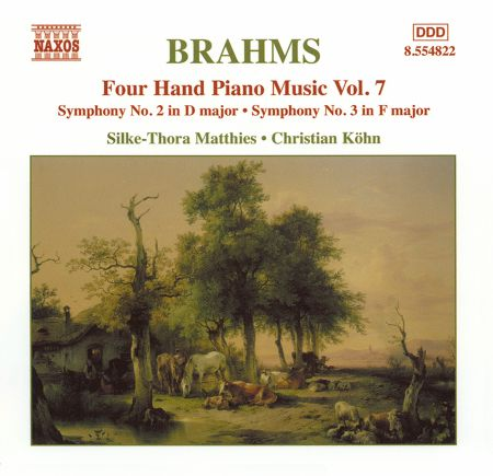 Christian Kohn, Silke-Thora Matthies: Brahms: Four-Hand Piano Music, Vol.  7 - CD