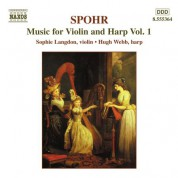 Spohr: Music for Violin and Harp, Vol.  1 - CD