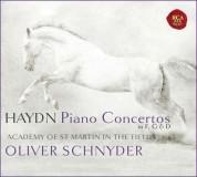 Oliver Schnyder: Haydn: Three Piano Concertos - CD