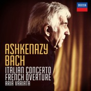 Vladimir Ashkenazy: Bach, J.S.: Italian Concerto, French Overture - CD