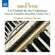 Brouwer: Guitar Music, Vol. 4 - La Ciudad De Las Columnas / Nuevos Estudios Sencillos - CD