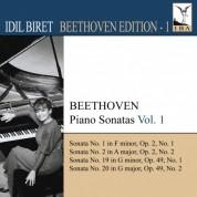 İdil Biret: Beethoven, L. Van: Piano Sonatas, Vol.  1 (Biret) - Nos. 1, 2, 19, 20 - CD