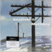 John Scofield, Pat Metheny: I Can See Your House From Here - Plak