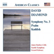 Diamond: Symphony No. 3 / Psalm / Kaddish - CD