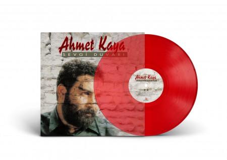 Ahmet Kaya: Sevgi Duvarı (Renkli Plak) - Plak
