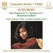 Violin Recital: Adele Anthony - CD