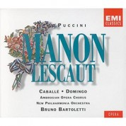 Bruno Bartoletti, Montserrat Caballé, Plácido Domingo: Puccini: Manon Lescaut - CD