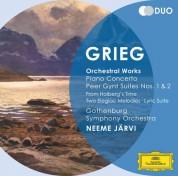 Gothenburg Symphony Orchestra, Lilya Zilberstein, Neeme Järvi: Grieg: Orchestral Works - CD