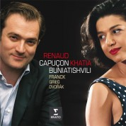 Renaud Capuçon, Khatia Buniatishvili: Franck, Grieg, Dvorak: Sonatas for violin and piano - CD