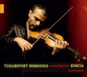 Laurent Korcia: Tchaikovsky, Korngold: Violin Concertos - CD