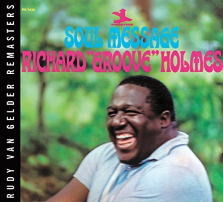 Richard Groove Holmes: Soul Message - Plak