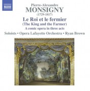 Ryan Brown: Monsigny: Le roi et le fermier - CD