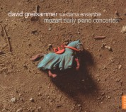 David Greilsammer: Mozart: Early Piano Concertos - CD