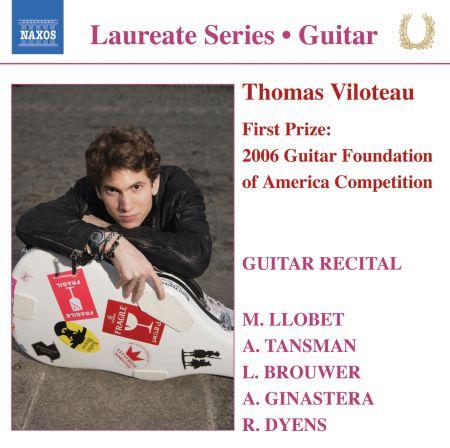 Thomas Viloteau: Guitar Recital: Thomas Viloteau - CD
