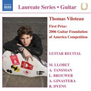 Thomas Viloteau: Guitar Recital: Thomas Viloteau - CD