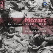 London Philharmonic Orchestra, Christoph Eschenbach: Mozart: Piano Concertos No: 9, 19, 21, 23, 27 - CD