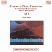Péter Nagy: Romantic Piano Favourites, Vol. 8 - CD