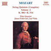 Mozart: String Quintets, K. 406 and K. 516 - CD