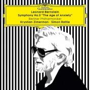 "Sir Simon Rattle, Krystian Zimerman, Berliner Philharmoniker: Bernstein: Symphonie No 2 ""The Age of Anxiety"" - Plak"
