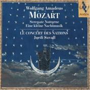 Le Concert des Nations, Jordi Savall: Wolgang Amadeus Mozart - Serenate Notturne - Eilen kleine Nachtmusik - CD
