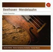 Jascha Heifetz, Charles Munch, Boston Symphony Orchestra: Beethoven: Violin Concerto; Mendelssohn: Violin Concerto - CD
