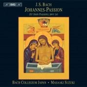 Ingrid Schmithüsen, Yoshikazu Mera, Gerd Türk, Makoto Sakurada, Bach Collegium Japan, Masaaki Suzuki: J.S. Bach: Johannes-Passion (St. John Passion), BWV 245 (Version IV, 1749) - CD