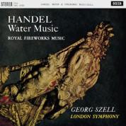 London Symphony Orchestra, George Szell: Handel: Water Music, Fireworks Music - Plak