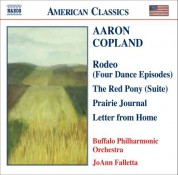 JoAnn Falletta: COPLAND: Prairie Journal / The Red Pony Suite / Letter from Home - CD