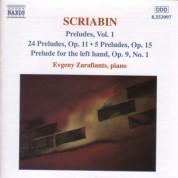 Evgeny Zarafiants: Scriabin: Preludes, Vol.  1 - CD